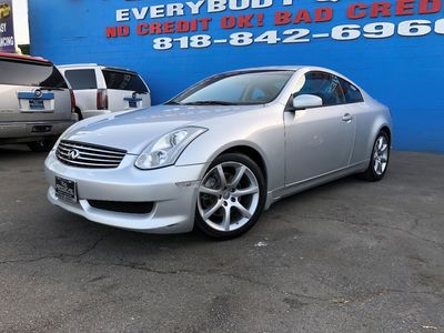 Used 2006 Infiniti G35 Coupe 2 2 At Radical Auto Deals