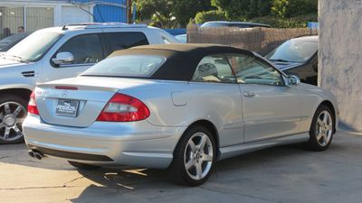 2007 Mercedes-Benz CLK550 5.5L